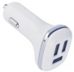 dual USB Mobile phone 5.1A universal 3 usb car charger